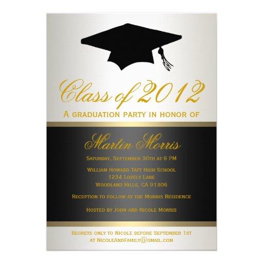 Personalized Graduation cap Invitations – Graduation Cap Invitation