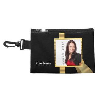 Black and gold instagram template accessory bag