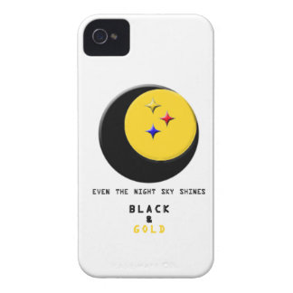 Black and Gold is even in the Night Sky Case iPhone 4 Case-Mate Cases
