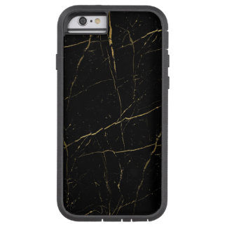 Black and Gold Marble Tough Xtreme iPhone 6 Case