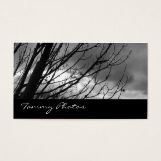 Black and Gold Photography Business Card