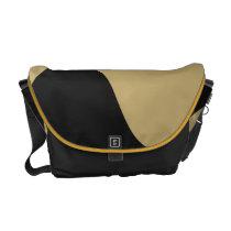 Black and Gold Smooch Bag