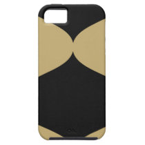 Black and Gold Smooch iPhone SE/5/5s Case