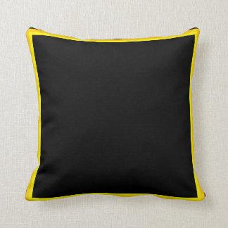 black gold pillows decorative throw pillows zazzle. Black Bedroom Furniture Sets. Home Design Ideas