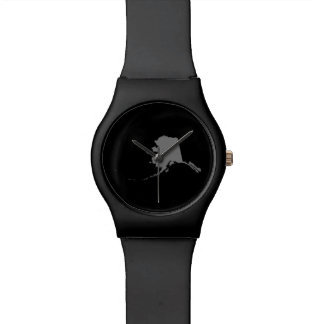 Black and Gray Alaska Wristwatches