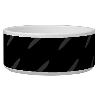 Black and Gray Background Design, Thin Ovals. Bowl