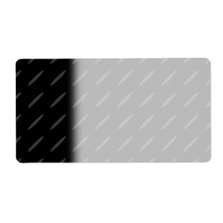 Black and Gray Background Design, Thin Ovals. Label