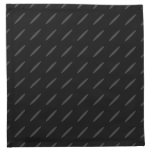 Black and Gray Background Design, Thin Ovals. Napkin