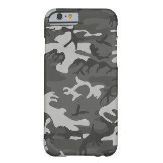 Black and Gray Camouflage Pattern Case