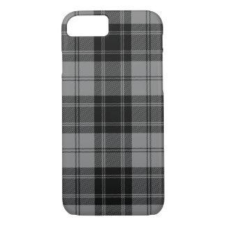 Black and Gray Clan Douglas Tartan iPhone 8/7 Case