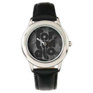 Black and Gray Fortunato Wrist Watches