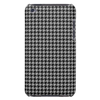 Black and Gray Houndstooth Ipod Case iPod Touch Case