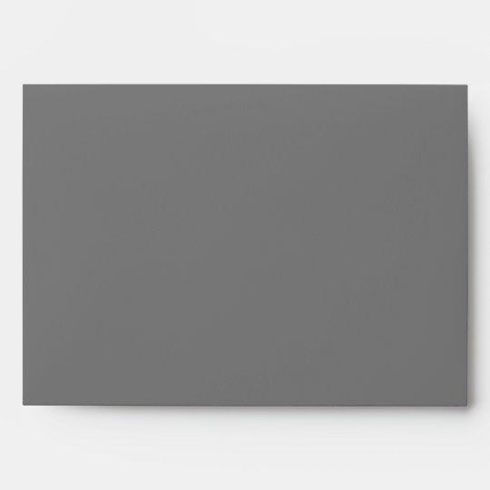 Black and Gray Linen Envelopes