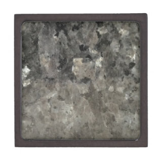 Black And Gray Marble Keepsake Box