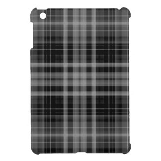 Black and Gray Plaid Cover For The iPad Mini