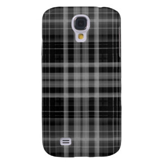Black and Gray Plaid HTC Vivid Cases