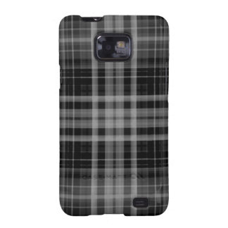Black and Gray Plaid Samsung Galaxy S2 Cover