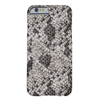 Black and Gray Snake Skin Barely There iPhone 6 Case