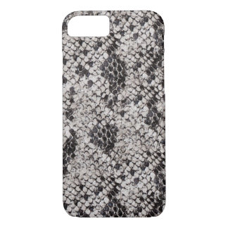 Black and Gray Snake Skin iPhone 7 Case