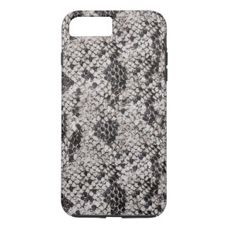 Black and Gray Snake Skin iPhone 7 Plus Case