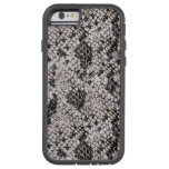 Black and Gray Snake Skin Tough Xtreme iPhone 6 Case