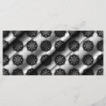 Black and Gray Stylish Elegant Pattern.