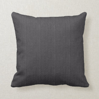 Black and Gray Tricks on the Eye Throw Pillow