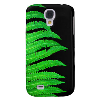 Black and Green Fern Samsung S4 Case