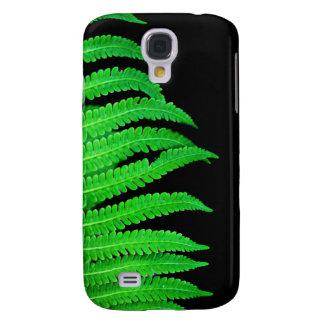 Black and Green Fern Samsung S4 Case