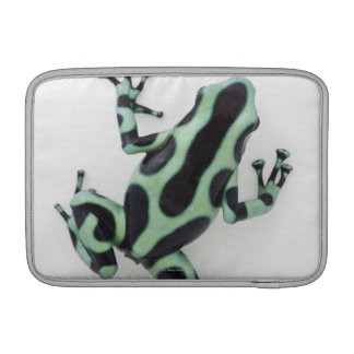 Black and Green Poison Dart Frog 2 MacBook Air Sleeve