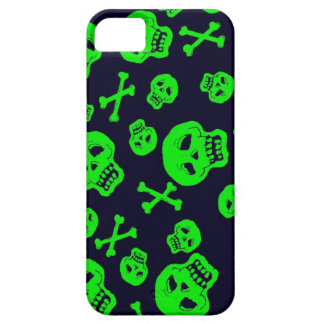 Black and Green Skulls case for iPhone 5 iPhone 5 Cases