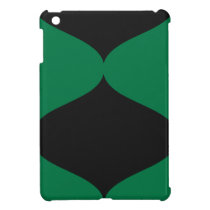 Black and Green Smooch Case For The iPad Mini