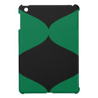 Black and Green Smooch iPad Mini Covers