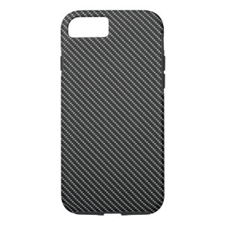 Black and Grey Carbon Fiber Base iPhone 7 Case