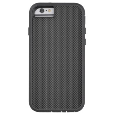 Beach Themed Black and Grey Carbon Fiber Pattern Base Tough Xtreme iPhone 6 Case