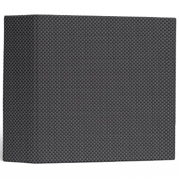 Beach Themed Black and Grey Carbon Fiber Polymer Binder