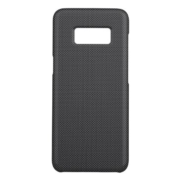 Beach Themed Black and Grey Carbon Fiber Polymer Case-Mate Samsung Galaxy S8 Case