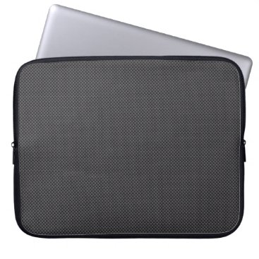 astroskins Black and Grey Carbon Fiber Polymer Computer Sleeve