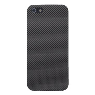 Halloween Themed Black and Grey Carbon Fiber Polymer Cover For iPhone SE/5/5s