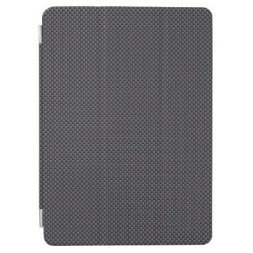 Halloween Themed Black and Grey Carbon Fiber Polymer iPad Air Cover