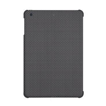Aztec Themed Black and Grey Carbon Fiber Polymer iPad Mini Case