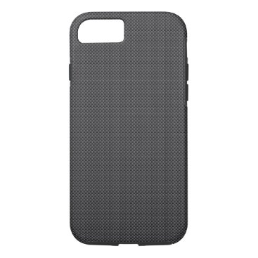 Aztec Themed Black and Grey Carbon Fiber Polymer iPhone 7 Case