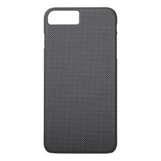 Black and Grey Carbon Fiber Polymer iPhone 7 Plus Case