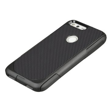 Aztec Themed Black and Grey Carbon Fiber Polymer OtterBox Commuter Google Pixel Case
