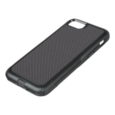 Aztec Themed Black and Grey Carbon Fiber Polymer OtterBox Commuter iPhone 7 Case