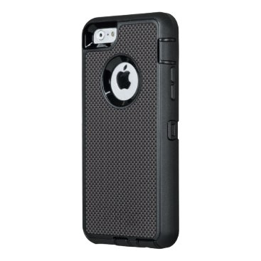Halloween Themed Black and Grey Carbon Fiber Polymer OtterBox Defender iPhone Case