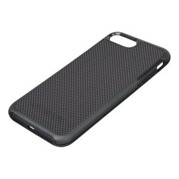 Disney Themed Black and Grey Carbon Fiber Polymer OtterBox Symmetry iPhone 7 Plus Case