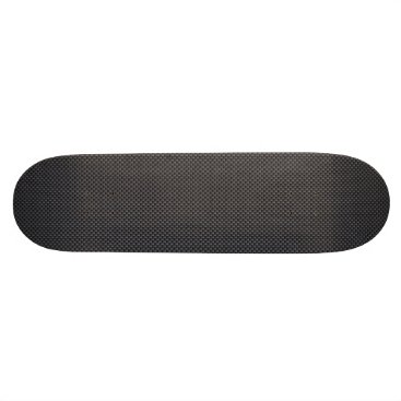 Halloween Themed Black and Grey Carbon Fiber Polymer Skateboard Deck