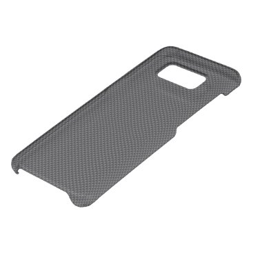 Beach Themed Black and Grey Carbon Fiber Polymer Uncommon Samsung Galaxy S8 Case