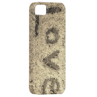 Black and grey Coconut Love iphone5 case